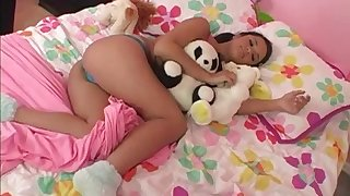 Seductive porn hottie Bliss Lei likes to get nailed hard and doggystyle
