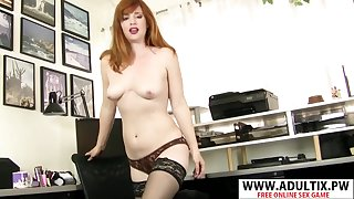 Beautiful Stepmom Amber Day one  Gets humped Cool Touching Step-son - amber dawn