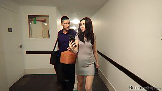 Socking peachy brunette involving juicy booty Kelsey Kage does everything her impoverish desires