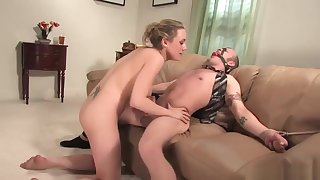 Tiedup Man Is Having Fun With Mistresses