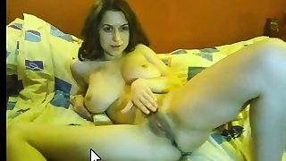 big boobed unspecified on webcam