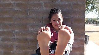 Latin fatima girl feet soles