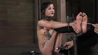 Anal Hook Sub Toyed And Caned By Maledom