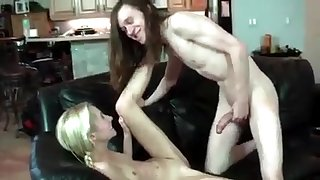 Hippie stepbro fucks his sister