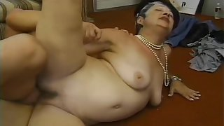 Granny Ellen Shows She's Not To Old To Fuck A Hard Dick