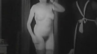 Ballerina and Her Maid Threesomes FFM 1920s (1920s Vintage)